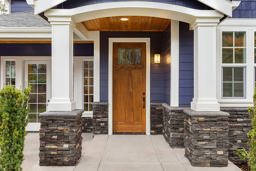 How carefully chosen doors can increase the security of your home